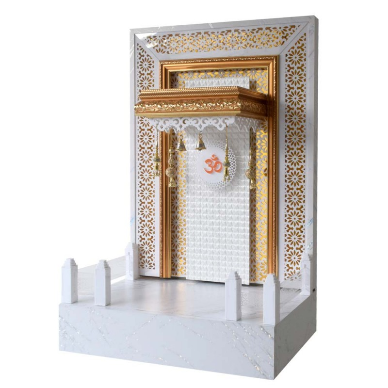Designer Wooden Mandir 3 FT Height with...